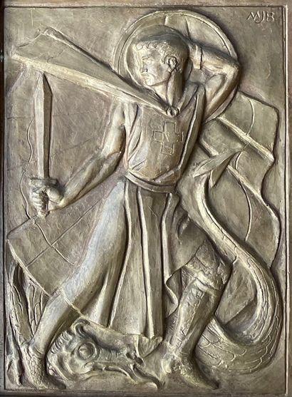 JOYCE BIDDER (1906-199) St Georges terrassant...