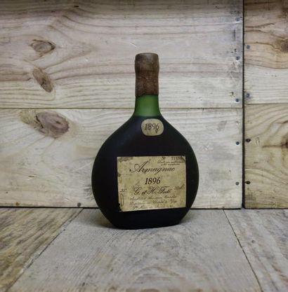 1 Bouteille ARMAGNAC - G & H FERTE 1896 Étiquette...
