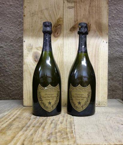 2 Bouteilles CHAMPAGNE DOM PERIGNON 1983...