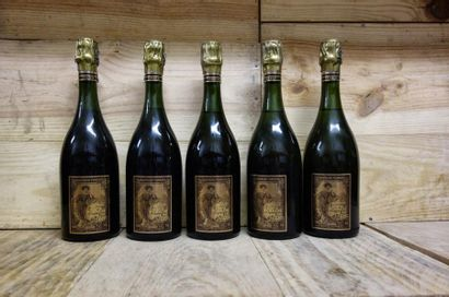 5 Bouteilles CHAMPAGNE POMMERY