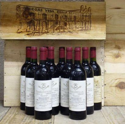 11 Bouteilles Espagne - VEGA SICILIA UNICO...