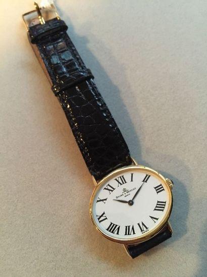 BAUME ET MERCIER Genève. Montre bracelet...