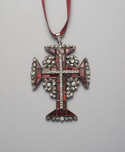 Ordre du Christ en argent 925 millièmes orné...