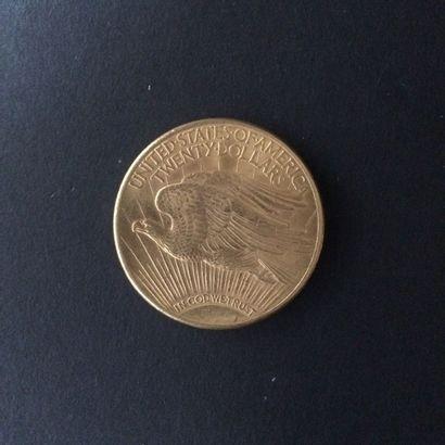 ETATS UNIS. 20 Dollars. 1913. Or. 33.5 g