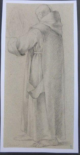 Suiveur de Eustache LESUEUR (1617-1655)  Etude...