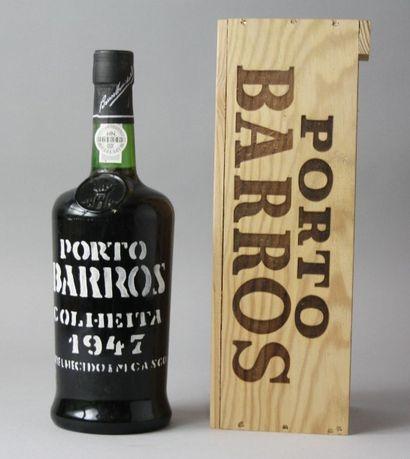 1 Bouteille PORTO BARROS COLHEITA 1947  ...