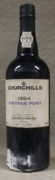 1 Bouteille PORTO CHURCHILL'S VINTAGE 1994...
