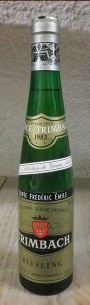 1 Demi bouteille ALSACE - RIESLING CUVÉE...