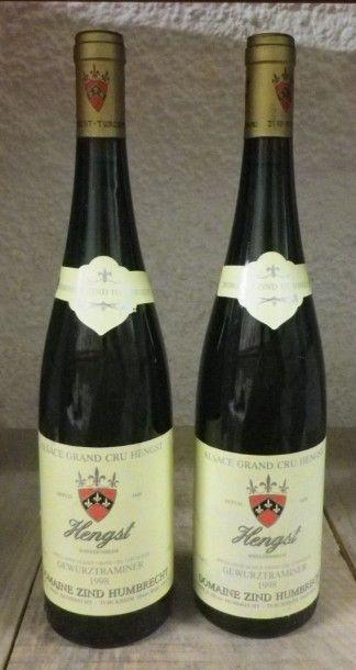 2 Bouteilles - GEWURSTRAMINER HENGST 1998...