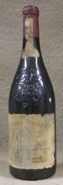 1 Bouteille CHÂTEAUNEUF DU PAPE 1998 - CHÂTEAU...