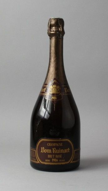 1 Bouteille CHAMPAGNE DOM RUINART BRUT ROSE...