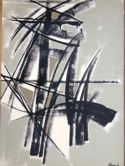 Bernard HERZOG (né en 1935)  Cavalier et...
