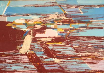 Bernard HERZOG (né en 1935)  Salines espagnoles...