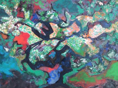 Bernard HERZOG (né en 1935)  L' univers végétal...