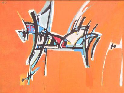Bernard HERZOG (né en 1935)  La jument et...