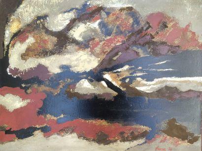 Bernard HERZOG (né en 1935)  La terre mère...