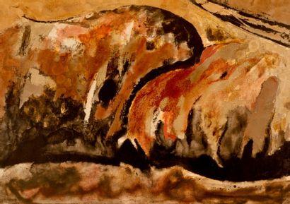 Bernard HERZOG (né en 1935)  Les berges du...