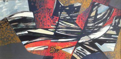 Bernard HERZOG (né en 1935)  Les ailes du...