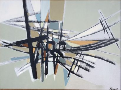 Bernard HERZOG (né en 1935)  Mouvance et...