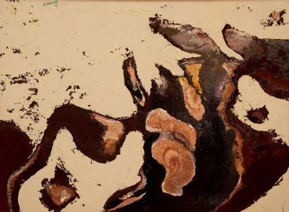 Bernard HERZOG (né en 1935)  Sensations nouvelles...