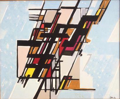 Bernard HERZOG (né en 1935)  Le monde en...