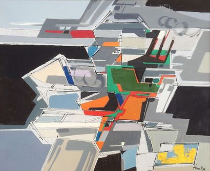 Bernard HERZOG (né en 1935)  Hommage au peintre...