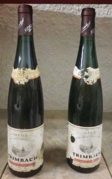 2 Bouteilles ALSACE - GEWURZTRAMINER Sélection...