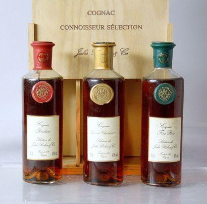 1 COFFRET DE 3 Flacons 20 Cl. COGNAC SELECTION...
