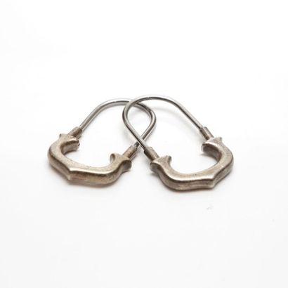 CARTIER - Deux portes clés en argent 925...
