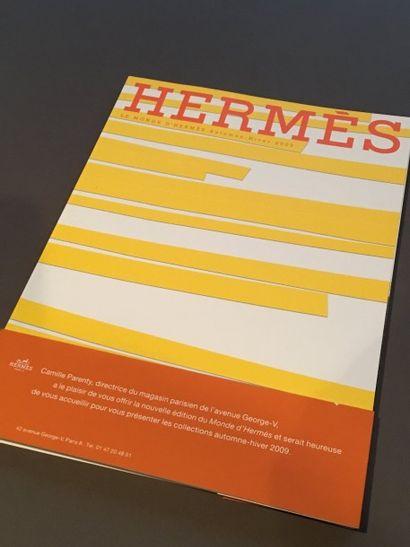 Collection de 56 magazines Hermès des années...