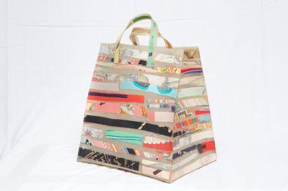 HERMES Paris Edition Limitée  Rare sac cabas...