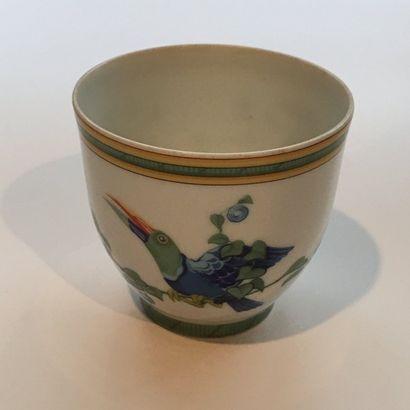 HERMES  Petite tasse en porcelaine de Limoges...
