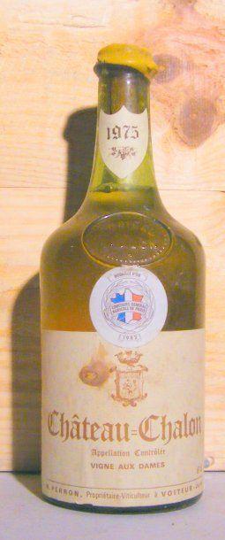 1 bouteille - CHATEAU CHALON 1975 Étiquette...
