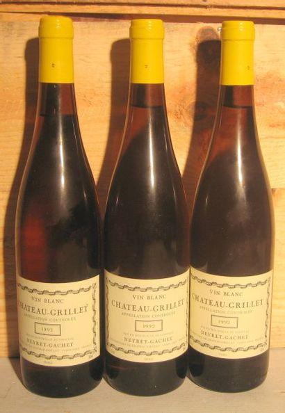 3 bouteilles - CHATEAU GRILLET 1992