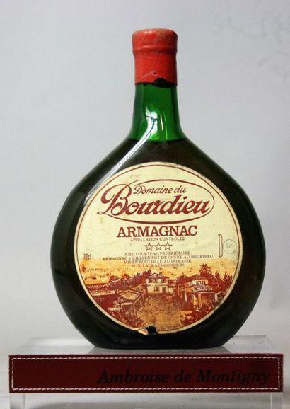 1 bouteille ARMAGNAC - DOMAINE DE BORDIE...