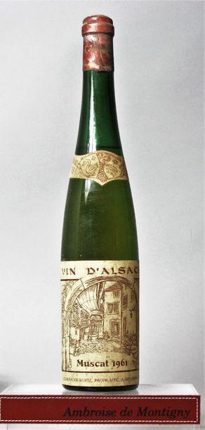 1 bouteille MUSCAT D'ALSACE - Paul SCHWANDER....