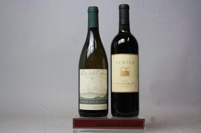 LOT de 2 bouteilles VINS ETRANGERS :  Nouvelle...