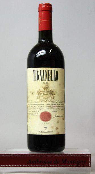 1 bouteille Italie : TIGNANELLO - ANTINORI...