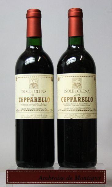 2 bouteilles Italie : CEPARELLO - ISOLE &...
