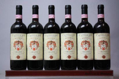 6 bouteilles Italie : CHIANTI CLASSICO RISERVA...