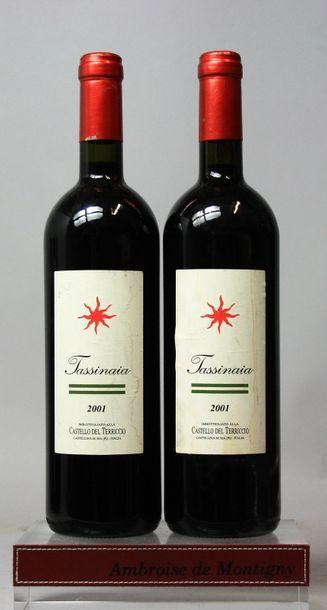 2 bouteilles Italie : TASSINAIA - CASTELLO...