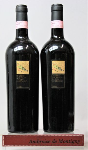 2 bouteilles Italie : TAURASI - FEUDI SAN...