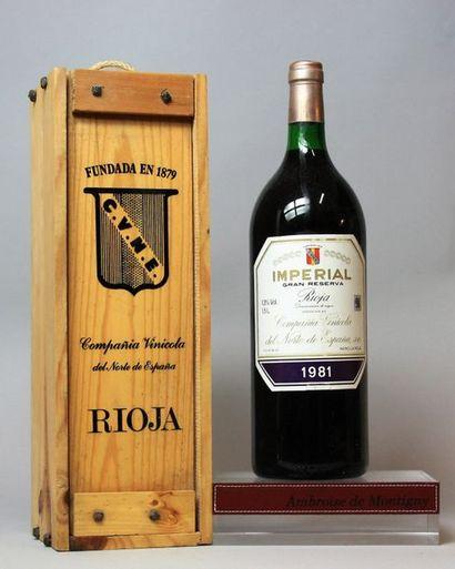 1 Magnum Espagne : RIOJA GRAN RESERVA IMPERIAL...