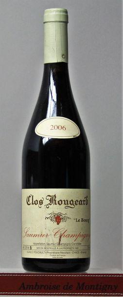 1 bouteille CLOS ROUGEARD