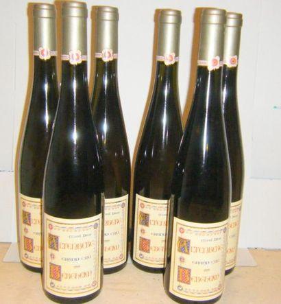 6 bouteilles ALSACE ALTENBERG DE BERGHEIM...
