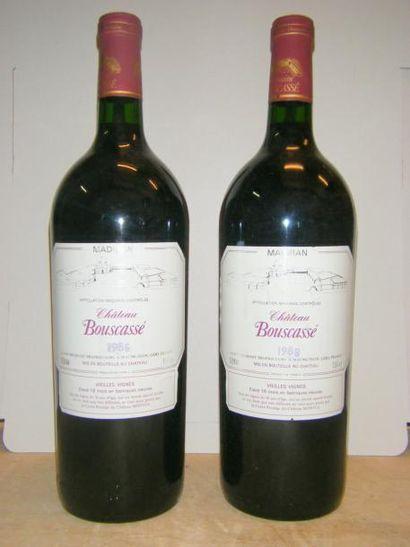 2 magnums MADIRAN CHÂTEAU DE BOUSCASSE