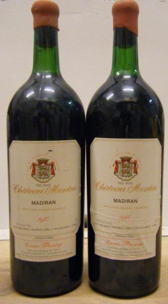 2 magnums MADIRAN CHÂTEAU MONTUS