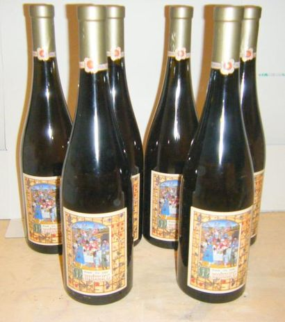 6 bouteilles ALSACE GRAND CRU MAMBOURG -...