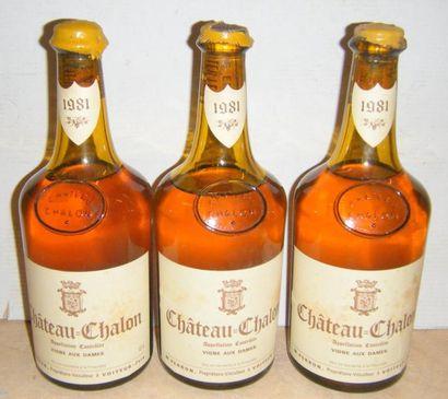 3 bouteilles CHÂTEAU-CHALON