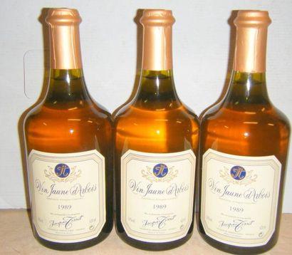 3 bouteilles VIN JAUNE D'ARBOIS - JACQUES...